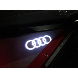 "Logo porte Audi ""ANNEAU"""