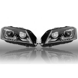 Feux avant bi-xenon/LED VW