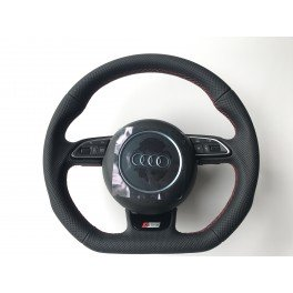 Volant Audi Facelift surp. rouge