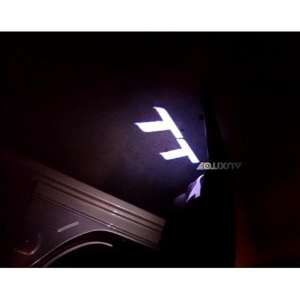 """Logo Porte Audi """" TT"""" Ou """"TT-S"""""""