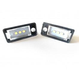 Eclairage immat LED Audi