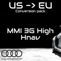 Conversion MMI3G vers Europe