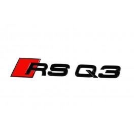 "Logo black Audi ""RSQ3"""