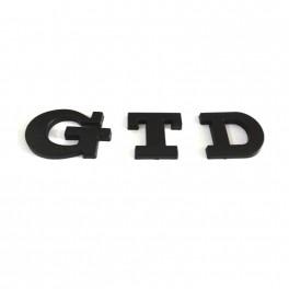 "Logo black ""GTD"""