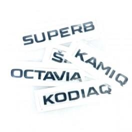 Logo black Skoda
