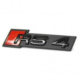 "Logo Audi black calandre ""RS4"""