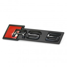 "Logo Audi black calandre ""RS5"""