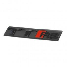 "Logo Audi black calandre ""TT-RS"""