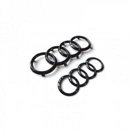Logo black Audi AVANT+ARRIERE