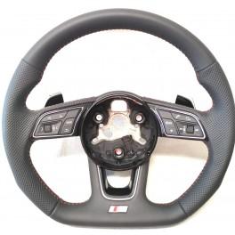 Volant Audi DSG RS surp. rouge