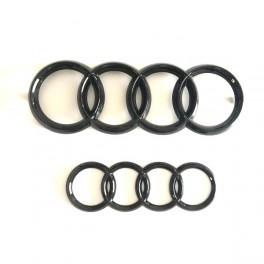 Logo black Audi TT AVANT+ARRIERE